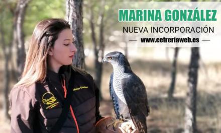 NUEVA INCORPORACIÓN MARINA GONZÁLEZ