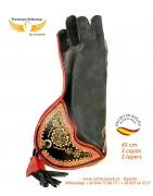 Falconry gloves 45cm | Special Eagles | Cetrería Web