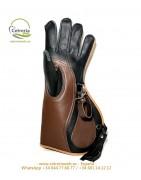 Guantes 35cm mano izquierda | Guantes para cetrería | Cetrería web ®