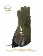 Guantes 35cm mano derecha | Guantes Cetrería | Cetrería web ®