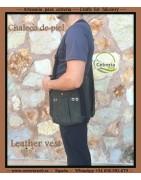 Chalecos de piel para cetrería | Cetrería Web ®